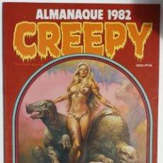 Cómics: CREEPY. ALMANAQUE 1982. Lote 155508580