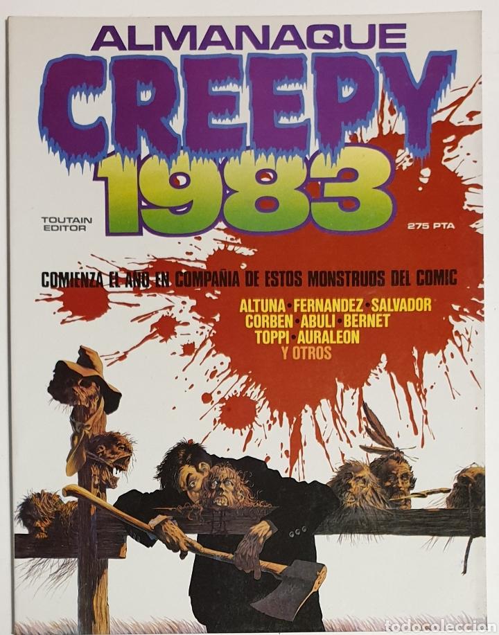 CREEPY. ALMANAQUE 1983 (Tebeos y Comics - Toutain - Creepy)