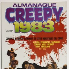 Cómics: CREEPY. ALMANAQUE 1983. Lote 155511609