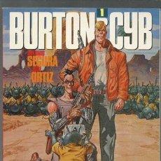 Cómics: BURTON Y CYB 1, 1988, TOUTAIN, MUY BUEN ESTADO. Lote 155757102