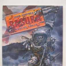 Cómics: BASURA - JUAN GIMENEZ - CARLOS TRILLO - TOUTAIN EDITOR - AÑO 1989.. Lote 155926714