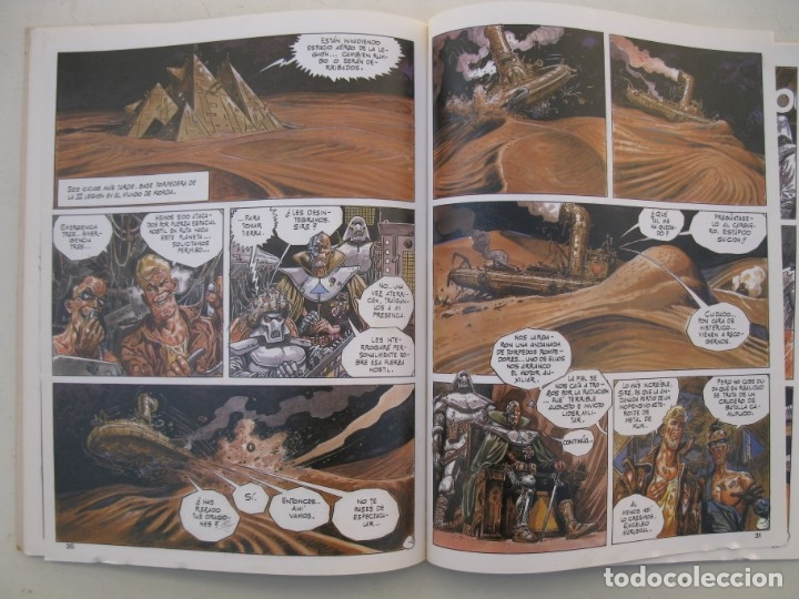 Cómics: BURTON & CYB - VOLUMEN 1 - JOSÉ ORTIZ - ANTONIO SEGURA - TOUTAIN EDITOR - AÑO 1988. - Foto 2 - 155938514