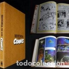 Cómics: HISTORIA DE LOS COMICS JAVIER COMA 4 TOMOS OBRA COMPLETA TOUTAIN EDITOR BUEN ESTADO. Lote 156140054
