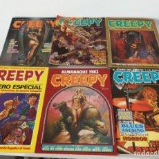 Cómics: LOTE COMICS CREEPY ALMANAQUE. Lote 156155542