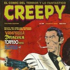 Cómics: CREEPY-PRIMERA PUBLICACIÓN MUNDIAL DE TERROR-Nº 38 -JOSÉ GONZÁLEZ-J.BERNET-FERNANDO F.-CORRECTO-0614. Lote 157093834
