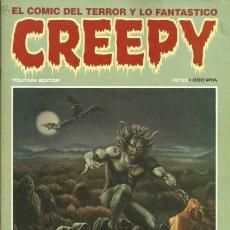 Cómics: CREEPY-PRIMERA PUBLICACIÓN MUNDIAL DE TERROR-Nº 65- 1985-ALBERTO BRECCIA-CORBEN-R. REESE-BUENO-0615. Lote 157101845