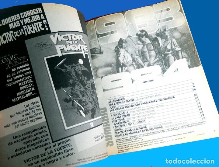 Cómics: 1984 ALMANAQUE PARA 1983, TOUTAIN EDITOR, ORIGINAL 1982 - MAGNIFICO ESTADO. - Foto 3 - 133584610