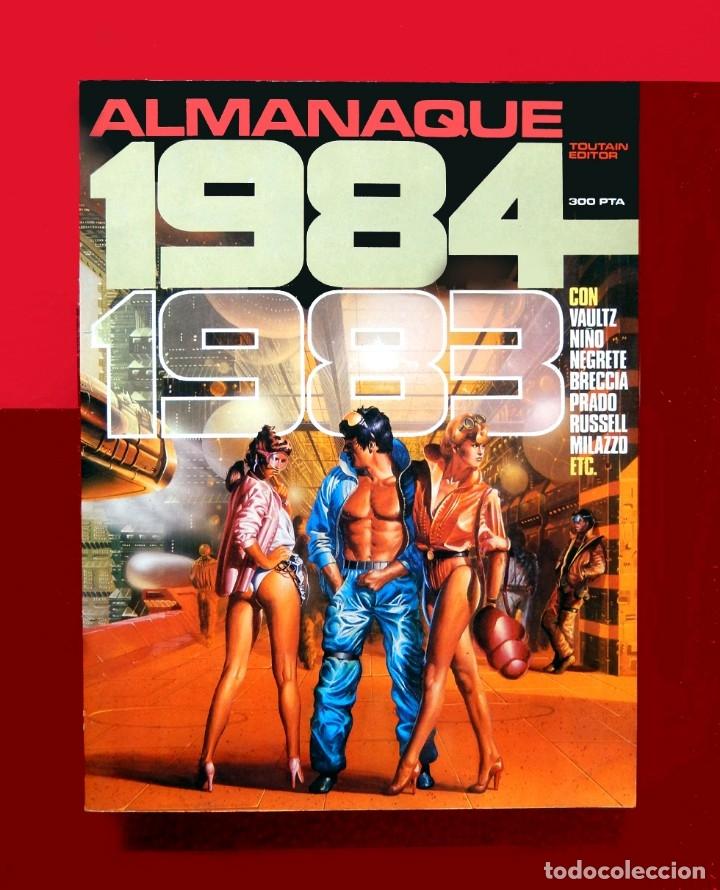 1984 ALMANAQUE PARA 1983, TOUTAIN EDITOR, ORIGINAL 1982 - MAGNIFICO ESTADO. (Tebeos y Comics - Toutain - 1984)