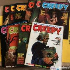Cómics: CREEPY 1ª EPOCA. 86 Nº CON LOS 7 EXTRAS. AÑO 1979. EDITORIAL TOUTAIN. Lote 158266394