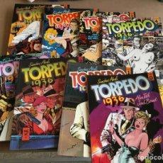 Cómics: TORPEDO 36 (2ª COLECCION). 8 Nº. AÑO 1990. EDITORIAL TOUTAIN. Lote 158659810