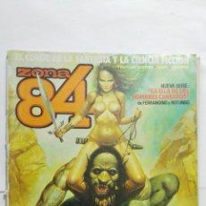 Comics : ZONA 84 Nº 60, EDITOR TOUTAIN, RETAPADO. Lote 158685490