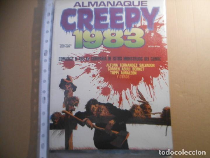 CREEPY -ALMANAQUE 1983 (Tebeos y Comics - Toutain - Creepy)