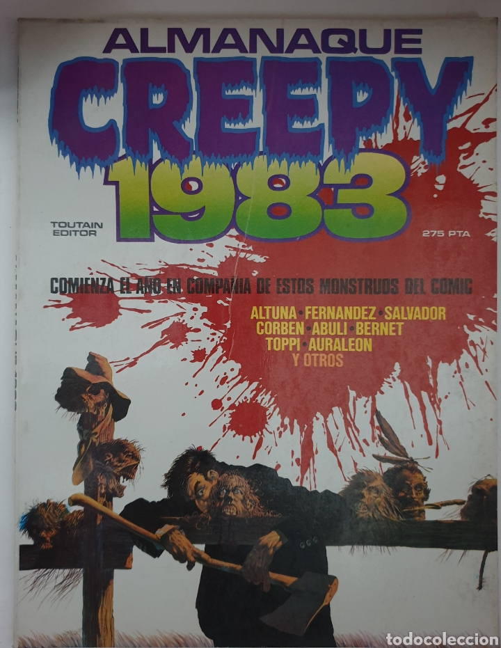 ALMANAQUE CREEPY 1983 (Tebeos y Comics - Toutain - Creepy)