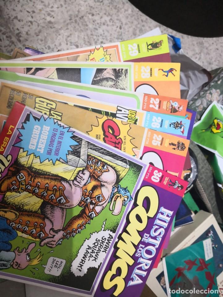 6 COMIC REVISTA HISTORIA DE LOS COMICS Nº 30, 25,26,27,28 Y 29.TOUTAIN EDITOR (Tebeos y Comics - Toutain - Otros)