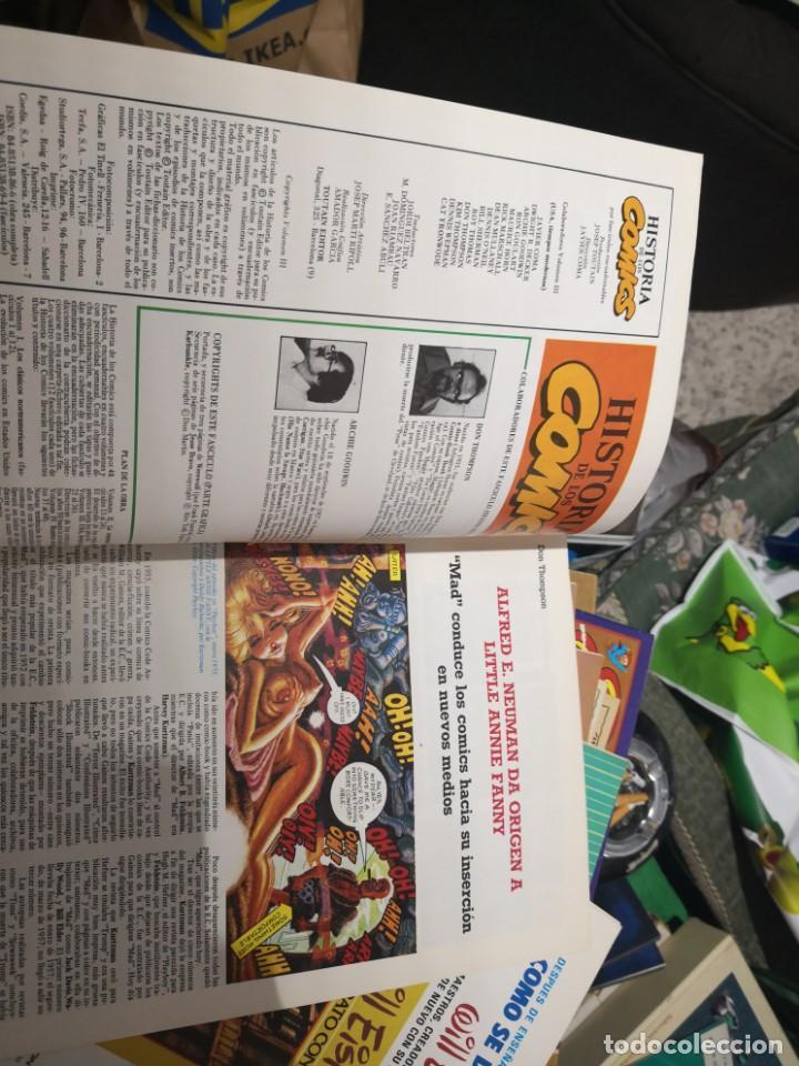 Cómics: 6 comic revista HISTORIA DE LOS COMICS Nº 30, 25,26,27,28 y 29.TOUTAIN EDITOR - Foto 3 - 158905438