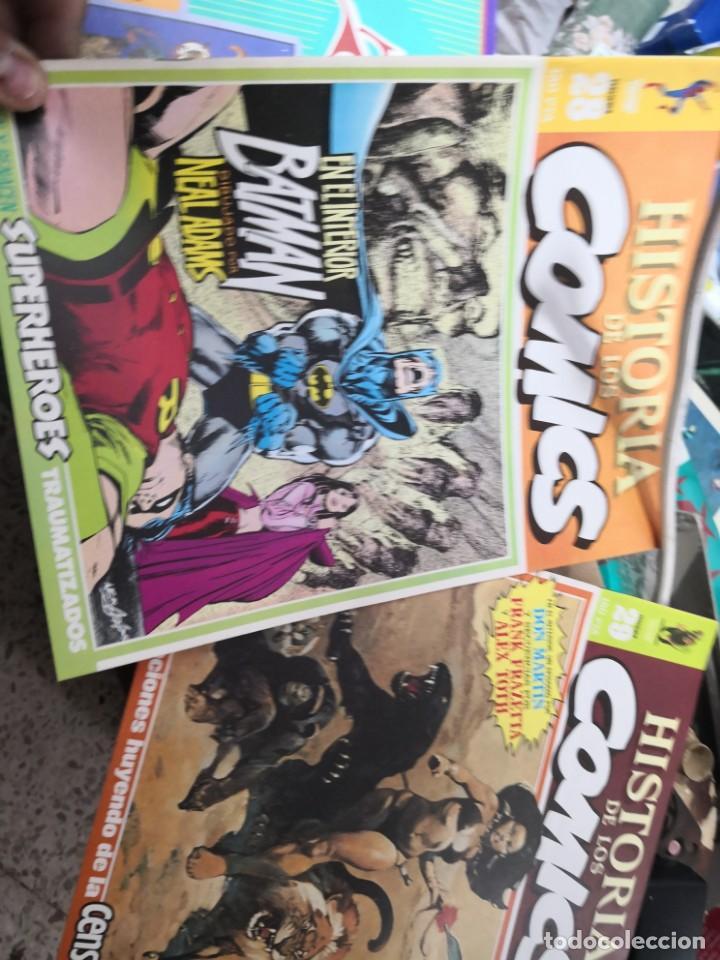 Cómics: 6 comic revista HISTORIA DE LOS COMICS Nº 30, 25,26,27,28 y 29.TOUTAIN EDITOR - Foto 5 - 158905438