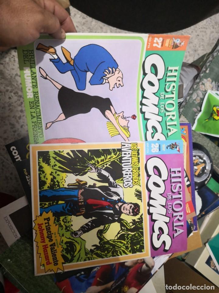 Cómics: 6 comic revista HISTORIA DE LOS COMICS Nº 30, 25,26,27,28 y 29.TOUTAIN EDITOR - Foto 7 - 158905438