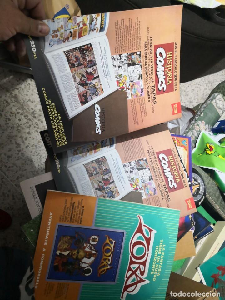 Cómics: 6 comic revista HISTORIA DE LOS COMICS Nº 30, 25,26,27,28 y 29.TOUTAIN EDITOR - Foto 8 - 158905438
