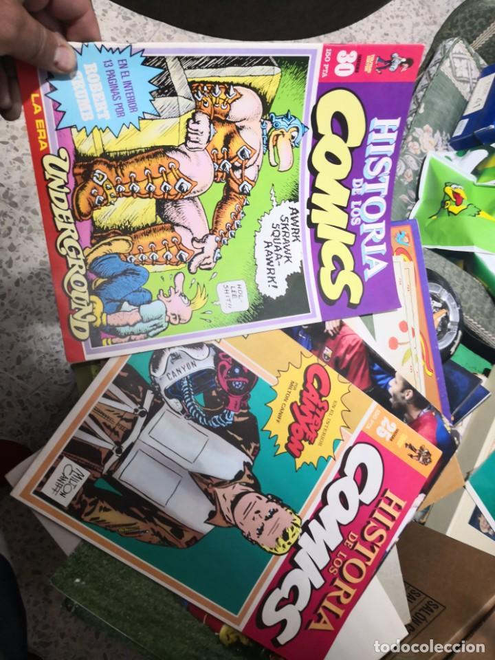 Cómics: 6 comic revista HISTORIA DE LOS COMICS Nº 30, 25,26,27,28 y 29.TOUTAIN EDITOR - Foto 9 - 158905438