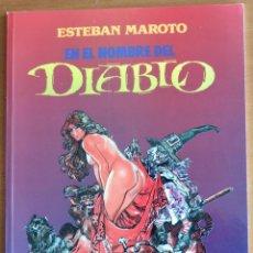 Cómics: ESTEBAN MAROTO - DIABLO & MUJERES FANTÁSTICAS - 2 TOMOS. Lote 159155138