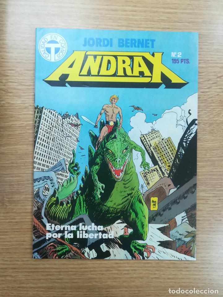 ANDRAX #2 (Tebeos y Comics - Toutain - Otros)