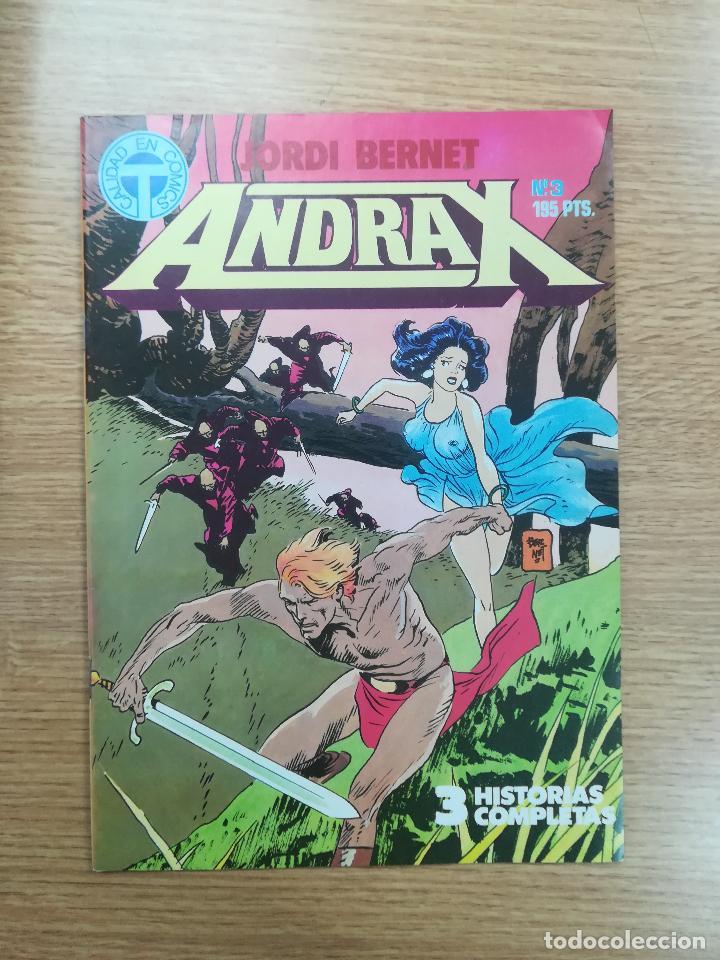 ANDRAX #3 (Tebeos y Comics - Toutain - Otros)