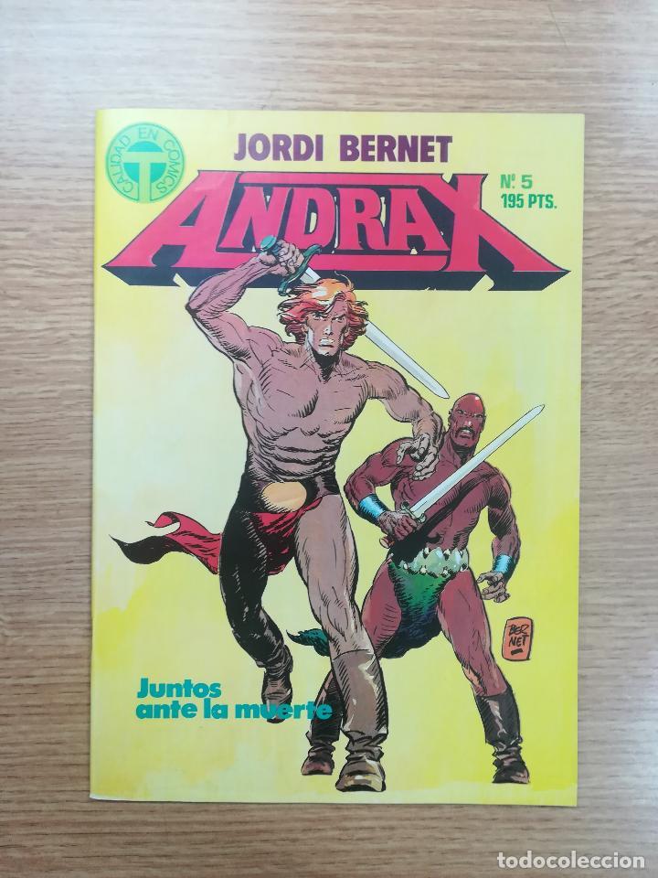 ANDRAX #5 (Tebeos y Comics - Toutain - Otros)