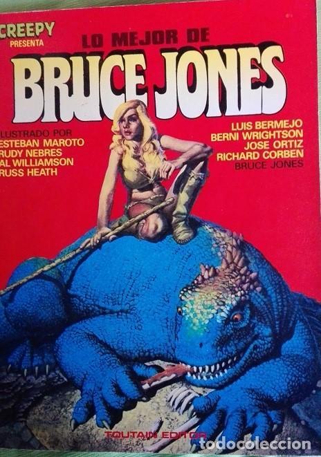 BRUCE JONES LO MEJOR DE. TOUTAIN EDITORES 1.982. 112 PAGS (Tebeos y Comics - Toutain - Otros)