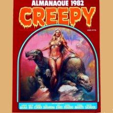 Cómics: CREEPY, ALMANAQUE PARA 1982 - TOUTAIN EDITOR, EL COMIC DEL TERROR Y LO FANTASTICO,1981. BUEN ESTADO.. Lote 120730671