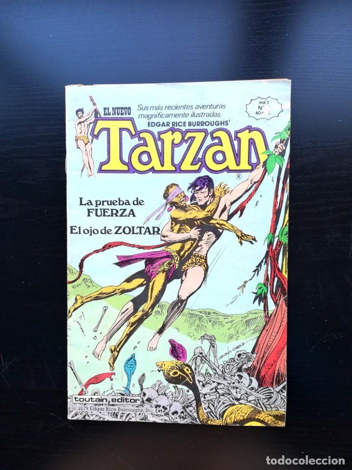 EL NUEVO TARZAN, VOL. 1 Nº 6. EDGAR RICE. TOUTAIN EDITOR, 1979. (Tebeos y Comics - Toutain - Otros)