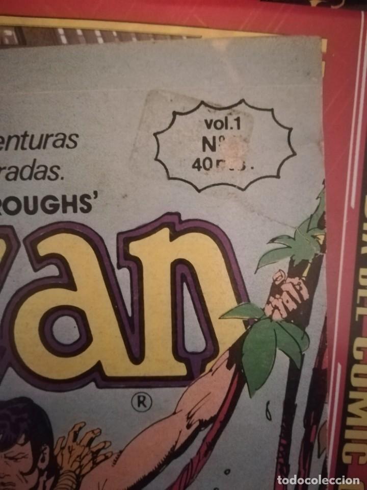 Cómics: El nuevo Tarzan, vol. 1 nº 6. Edgar Rice. Toutain Editor, 1979. - Foto 2 - 159796954