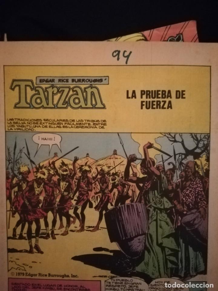 Cómics: El nuevo Tarzan, vol. 1 nº 6. Edgar Rice. Toutain Editor, 1979. - Foto 3 - 159796954