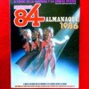 Cómics: ZONA 84, ALMANAQUE 1986 - TOUTAIN EDITOR - FANTASÍA Y CIENCIA FICCIÓN, PRIMERA EDICIÓN - NUEVO. Lote 159800330