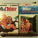 Cómics: ASTERIX. 2 EJEMPLARES. INGLÉS-FRANCÉS. VARIAS EDITORIALES. 1970/1990.. Lote 160137866