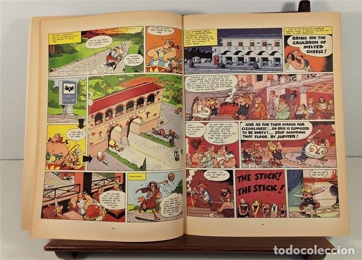 Cómics: ASTERIX. 2 EJEMPLARES. INGLÉS-FRANCÉS. VARIAS EDITORIALES. 1970/1990. - Foto 7 - 160137866