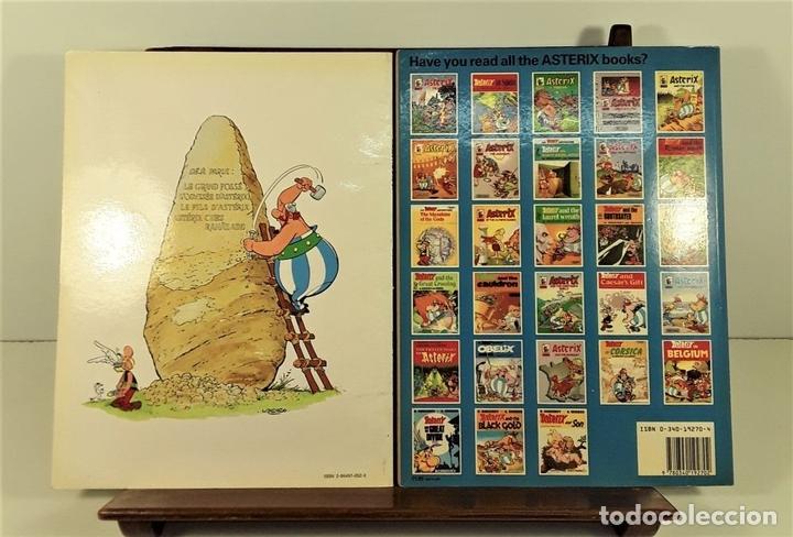 Cómics: ASTERIX. 2 EJEMPLARES. INGLÉS-FRANCÉS. VARIAS EDITORIALES. 1970/1990. - Foto 8 - 160137866