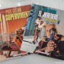 Cómics: COLECCIÓN COMPLETA - LA SUPERVIVIENTE - TOMOS 1 Y 2 - PAUL GUILLON. Lote 160146245