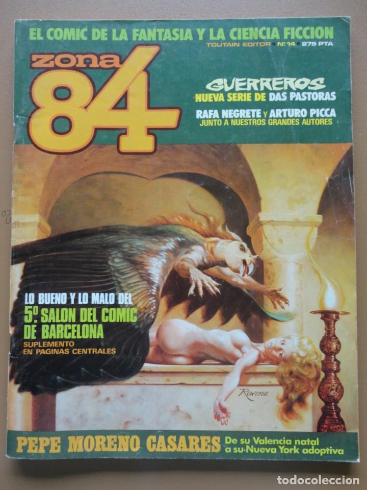ZONA 84 Nº- 14 (Tebeos y Comics - Toutain - Zona 84)