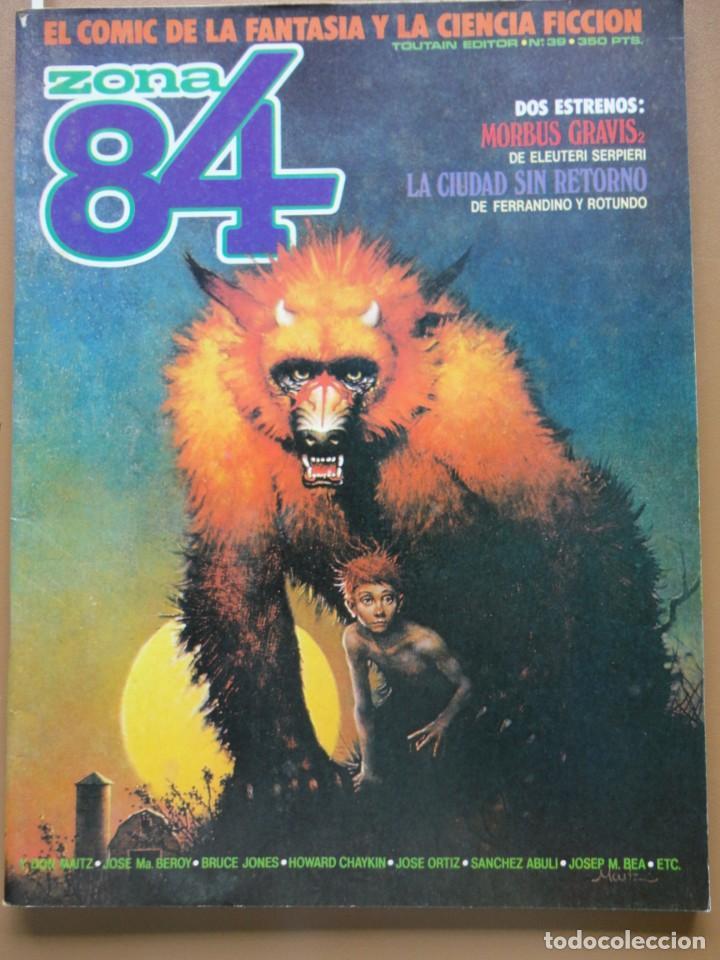 ZONA 84 Nº- 39 (Tebeos y Comics - Toutain - Zona 84)