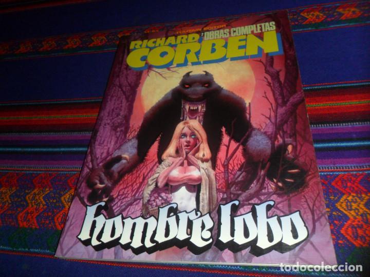 RICHARD CORBEN OBRAS COMPLETAS Nº 2 HOMBRE LOBO. TOUTAIN 1984. REGALO GRANDES MITOS DEL OESTE Nº 2. (Tebeos y Comics - Toutain - Obras Completas)