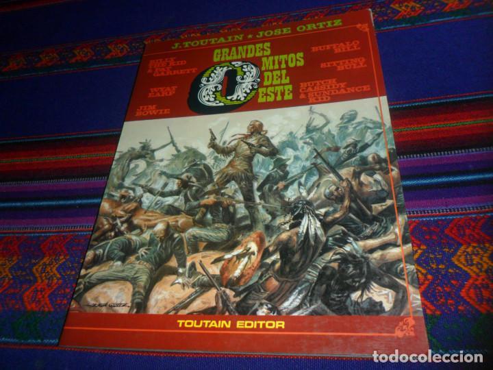 Cómics: RICHARD CORBEN OBRAS COMPLETAS Nº 2 HOMBRE LOBO. TOUTAIN 1984. REGALO GRANDES MITOS DEL OESTE Nº 2. - Foto 2 - 161770086