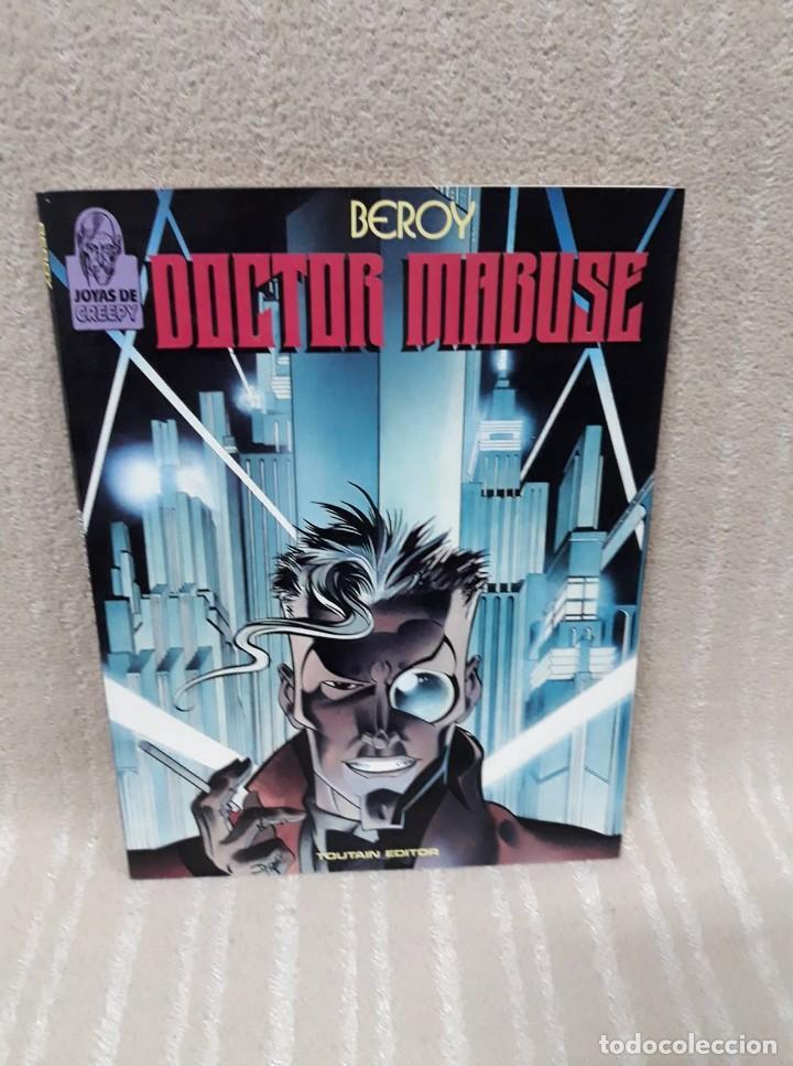 DOCTOR MABUSE - BEROY - TOUTAIN - JOYAS DE CREEPY (Tebeos y Comics - Toutain - Álbumes)
