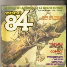 Cómics: ZONA 84 - Nº 68 - EL COMIC DE LA FANTASIA Y CIENCIA FICCION - TOUTAIN EDITOR. Lote 162021730