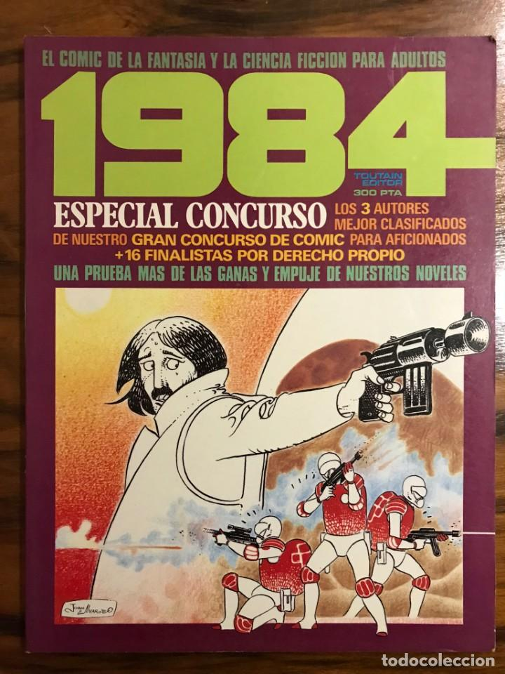 REVISTA 1984. ESPECIAL CONCURSO. EDITORIAL TOUTAIN. (Tebeos y Comics - Toutain - 1984)