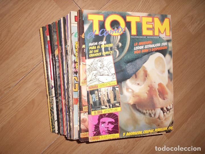 TOTEM EL COMIX - LOTE 29 NUMEROS (Tebeos y Comics - Toutain - Otros)