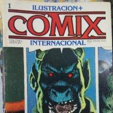 Cómics: LOTE 32 TEBEOS, ILUSTRACION + COMIX INTERNACIONAL, FANTASIA Y CIENCIA FICCION, TOUTAIN, VER NUMEROS. Lote 162923482