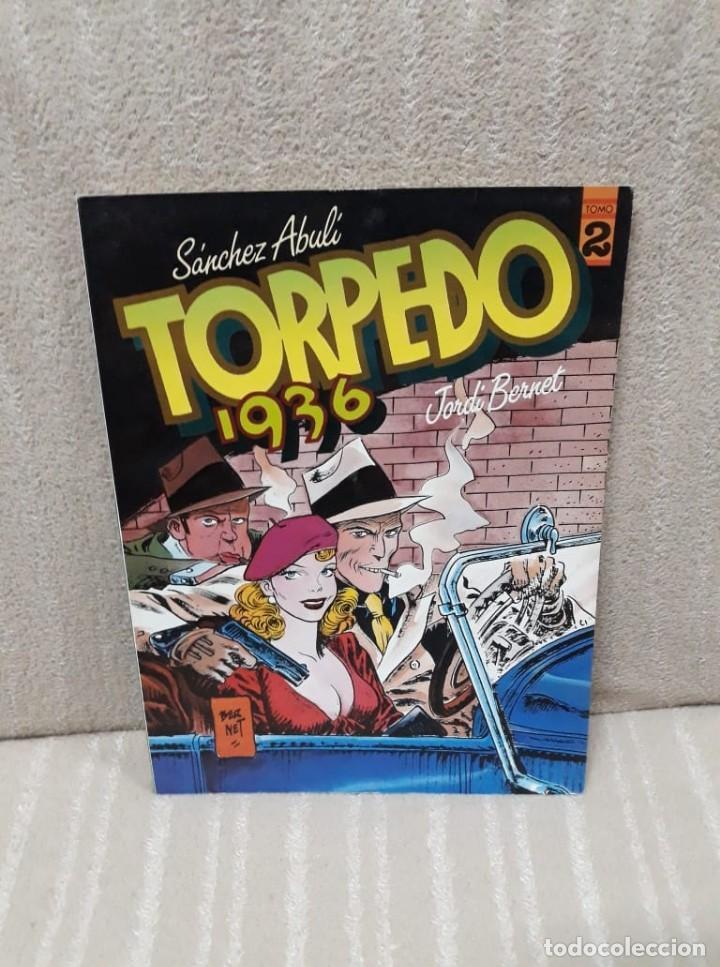 TORPEDO 1936 TOMO 2 - ABULÍ / BERNET - TOUTAIN (Tebeos y Comics - Toutain - Álbumes)