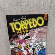 Cómics: TORPEDO 1936 TOMO 2 - ABULÍ / BERNET - TOUTAIN. Lote 163033930
