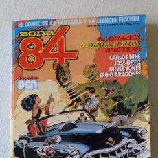 Cómics: ZONA 84. VÓLUMEN NUMEROS 71-72-73. 1989.. Lote 163059418