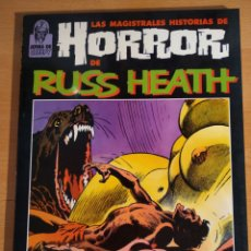 Cómics: MAGISTRALES HISTORIAS DE HORROR DE RUSS HEATH TOUTAIN. Lote 164638766